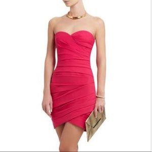 BCBGMaxAzria Pink Cocktail Party Dress